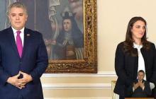 Presidente Duque respalda a Karen Abudinen en polémica de contratos de Mintic