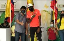 Anthony Zambrano recibe homenaje en la Alcaldía de Barranquilla