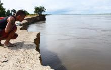 Salamina y su larga espera por la solución a la erosión