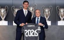 Courtois renueva con el Real Madrid hasta 2026