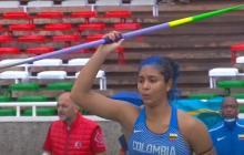 La atlanticense Valentina Barrios fue quinta en lanzamiento de jabalina en Mundial sub-20 de Atletismo