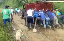 Caficultores piden arreglo de vías en la parte alta de Ciénaga, Magdalena