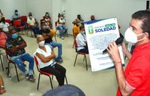 Avanza la normalización de barrios La Feria y La Victoria Vieja de Soledad