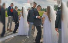 Llegó tan borracho a su boda que su amigo debió ponerle el anillo a la novia