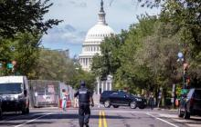 Presentan cargos contra el hombre que causó alerta de bomba en el Capitolio