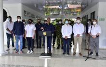 Presidente Duque lidera consejo de seguridad en Barranquilla