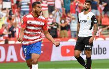 Luis Javier Suárez anotó con el Granada en España