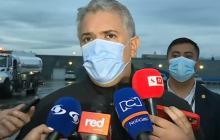 Presidente Duque confirmó que en agosto habrá 35 millones de dosis aplicadas en el país