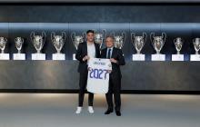 Federico Valverde renueva con el Real Madrid hasta junio del 2027