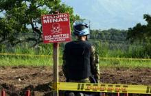 En mayo de 2022 Montes de María estaría libre de minas antipersonal
