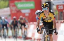 Primoz Roglic festejó en la undécima etapa de La Vuelta a España