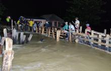 Piden obras definitivas en la cuenca del río Sinú