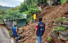 En Santa Marta evalúan daños en hogares afectados por lluvias