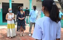 Retorno a clases presenciales en Cartagena avanza en un 66%