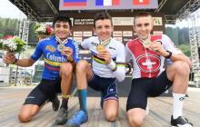 Camilo Gómez, plata para Colombia en el Mundial de MTB en Italia