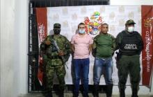 Caen dos de los Pachenca por extorsión en área rural de Santa Marta