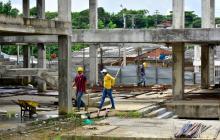 Reactivan las obras del megacolegio de Shakira en El Bosque