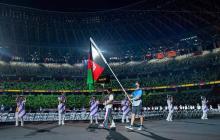 Los deportistas afganos llegan a Tokio y competirán en los Juegos
