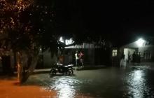 Reportan inundaciones en Palmar de Varela y Santo Tomás