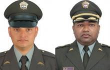 Atentado en Antioquia deja dos policías muertos