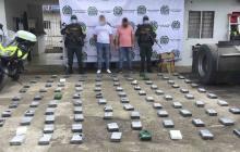 Policía decomisó 110 kilos de cocaína en vías de Córdoba