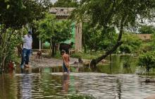 """Se nos inundó todo"", dicen habitantes de Palmar de Varela"