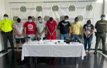 Caen siete del 'Combo de Alex Bolsa' por estupefacientes y homicidio