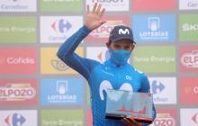"""Me hace feliz ganar la etapa reina de la Vuelta"": 'Supermán' López"