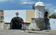 Club de Pesca recibió permisos para restaurar el Fuerte de San Sebastián