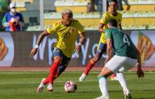 Roger Martínez cree que el punto contra Bolivia será importante para lo que viene