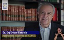 """Gral. Naranjo pide perdón por """"contribuir"""" a estigmatizar la Universidad"""