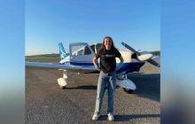 Barranquilla espera la llegada de la joven piloto que da la vuelta al mundo