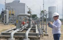 Se normaliza el servicio de gas en el interior del país