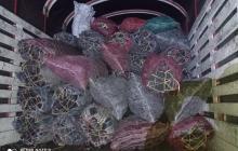 Cae hombre con 60 bultos de carbón vegetal que transportaba ilegalmente