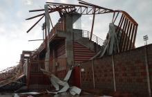 Reportan daños por el paso de un vendaval en municipios de Córdoba