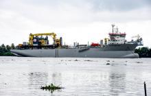 Dimar anuncia mejoras en condiciones para la navegación en canal de acceso