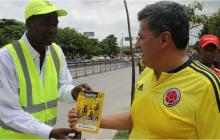 Establecen medidas para este jueves por partido entre Colombia y Chile