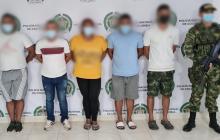Caen por extorsionar a contratistas y comerciantes en el sur de Córdoba