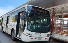 Por partido de Colombia, Transmetro realiza desvíos en rutas alimentadoras