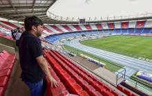 El Metropolitano, listo para recibir la fiesta del fútbol de la Selección