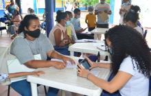 Migrantes aprovechan jornadas del PES para tramitar permiso de permanencia
