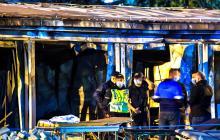Incendio en una unidad covid en Macedonia del Norte deja 14 muertos