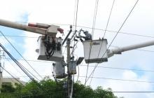 Este viernes suspenden el servicio de luz en seis municipios del Atlántico