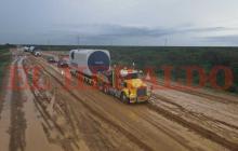 Parque Eólico es transportado hasta la Alta Guajira