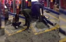 Policía realizó supuesto exorcismo en una estación de gasolina en Popayán