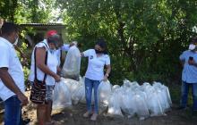Gobernación de Sucre entregó 62.000 alevinos en San Pedro