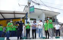 Distrito de Barranquilla fortalece los frentes de seguridad barriales