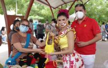 Sabanalarga, el primer municipio que visita la reina Valeria Charris