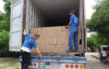 Alcaldía de Polonuevo realiza entrega de ayudas humanitarias en el municipio