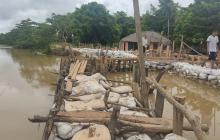 Refuerzan puntos críticos en la cuenca del río Sinú